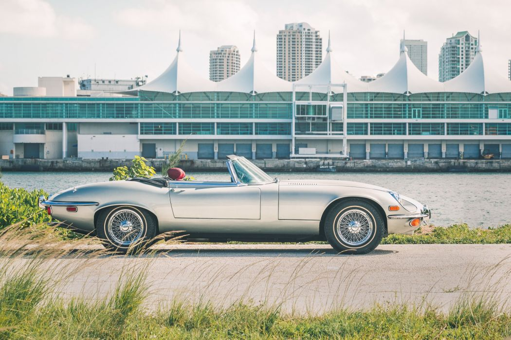 1972 Jaguar XKE classic supercar g wallpaper