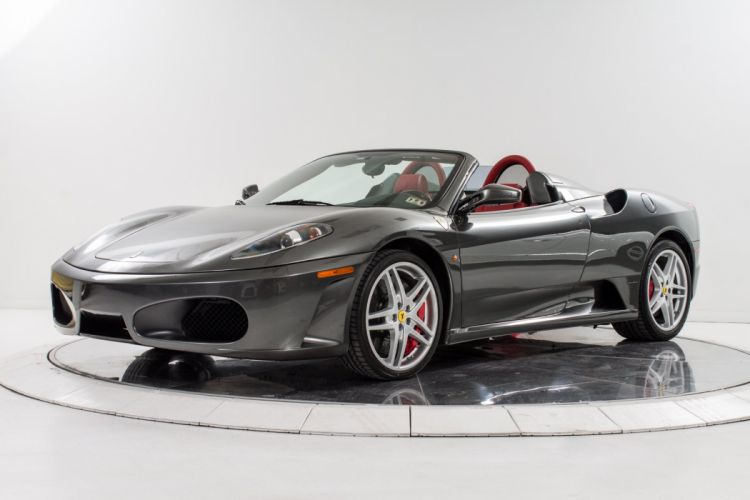 2008 FERRARI F430 SPIDER F-1 supercar f wallpaper