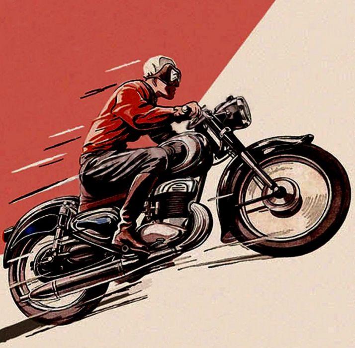 BMW vintage retro motorbike motorcycle bike classic wallpaper