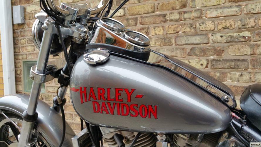 1983 Harley Davidson FXS Low Rider Twin Belt wallpaper