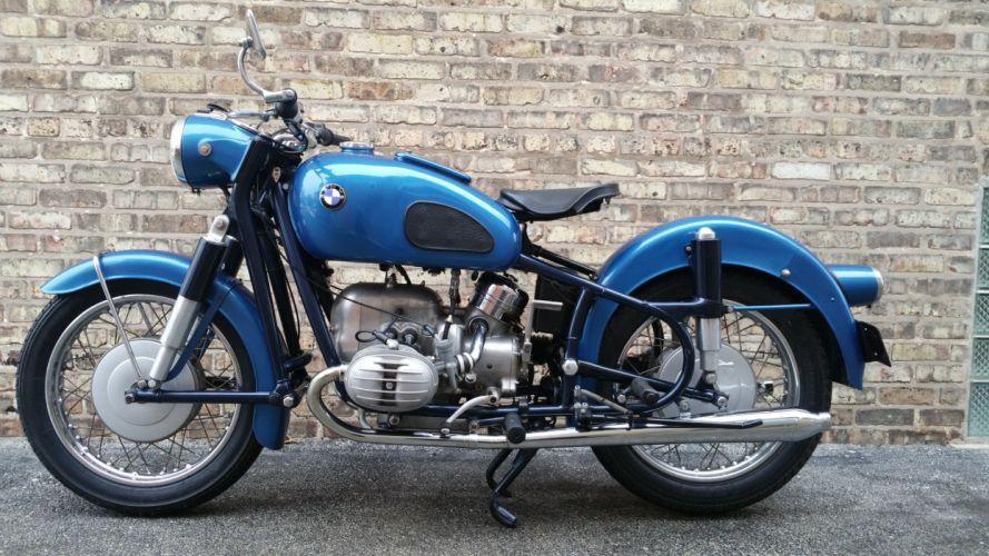 1960 BMW R60 classic bike motorbike d wallpaper