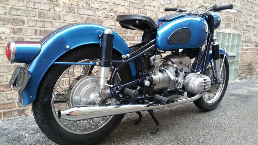 1960 BMW R60 classic bike motorbike d wallpaper