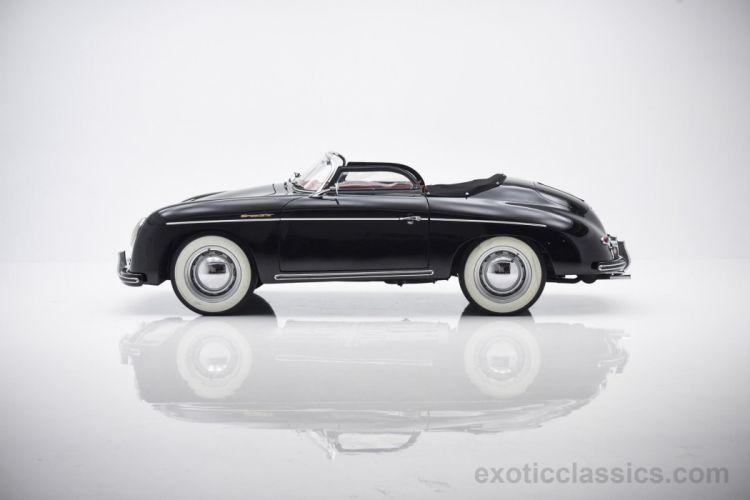 1959 Porsche Speedster Replica black classic cars wallpaper