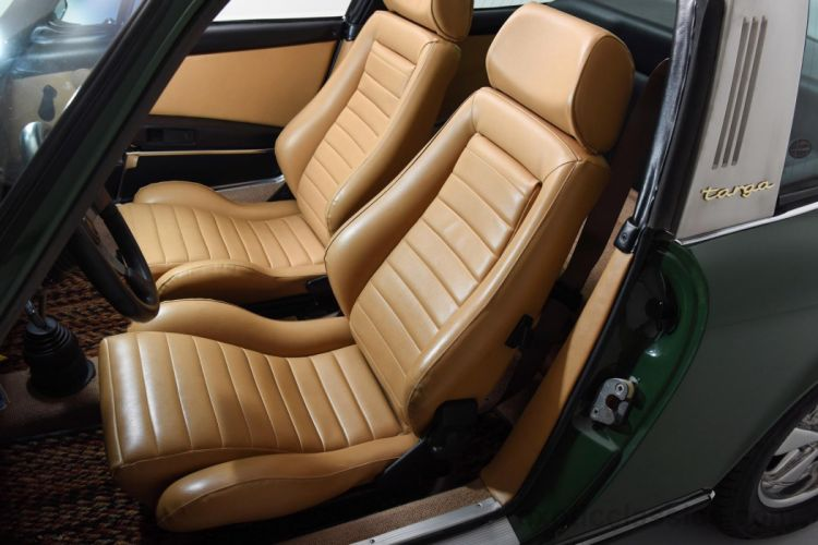 1969 Porsche 911-E Targa Irish Green cars classic wallpaper