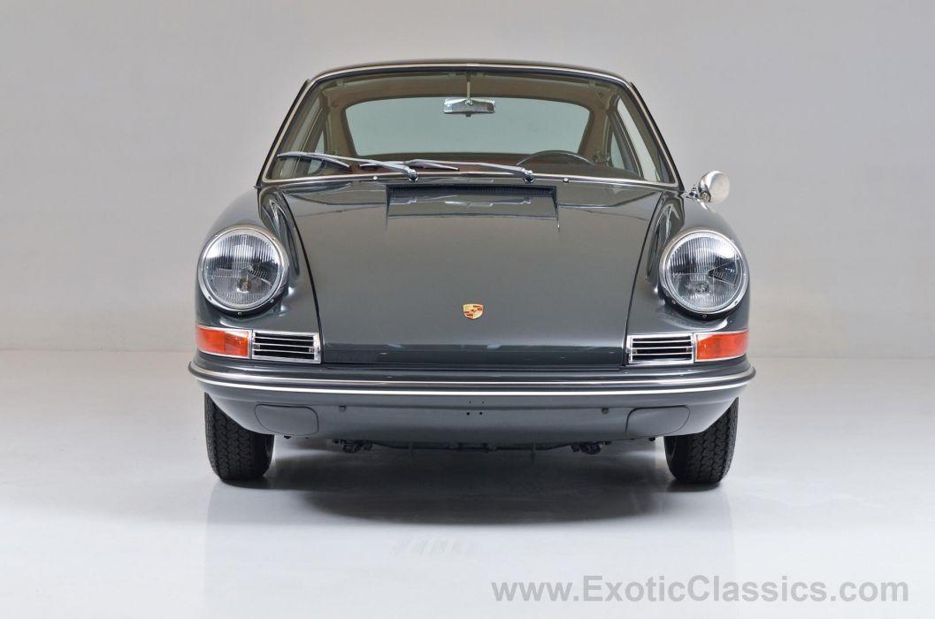 1967 Porsche 912 Coupe Slate Grey classic cars wallpaper