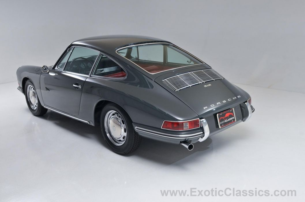 1967 Porsche 912 Coupe Slate Grey classic cars wallpaper