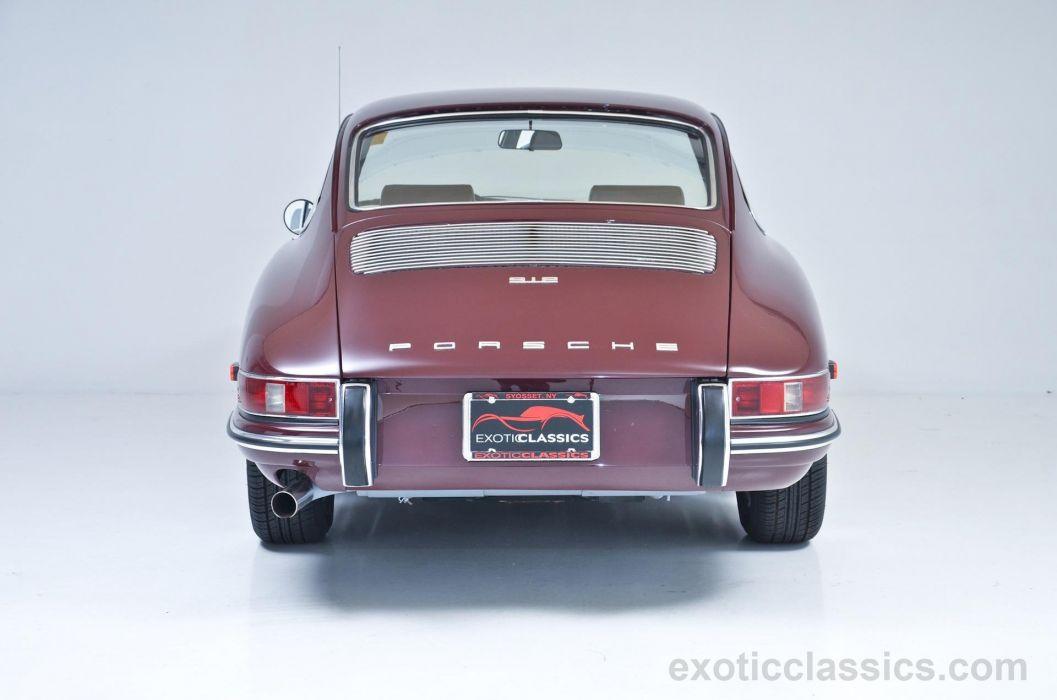 1968 Porsche 912 Coupe BURGUNDY classic cars wallpaper