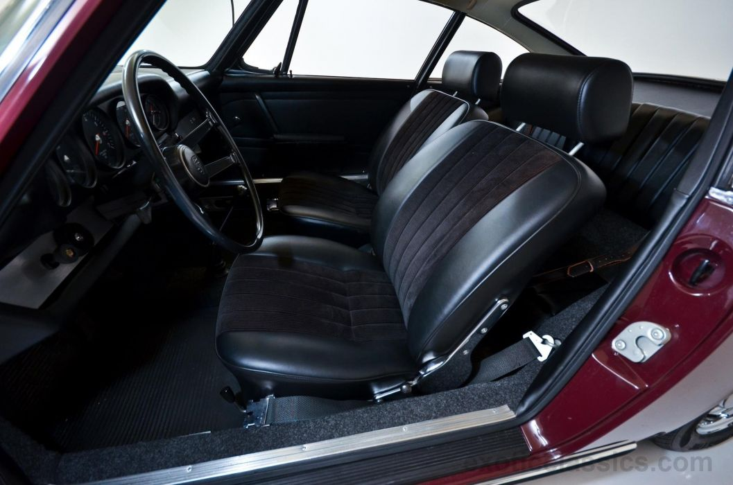 1968 Porsche 912 Coupe BURGUNDY classic cars wallpaper