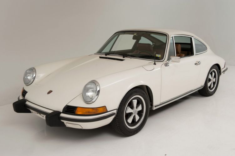 1963 Porsche 911-T Coupe white classic cars wallpaper