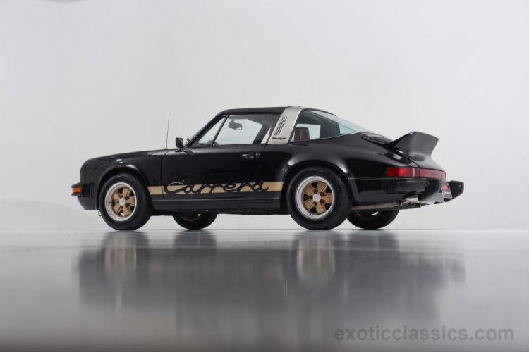 1974 Porsche 911 Carrera Targa black classic cars wallpaper