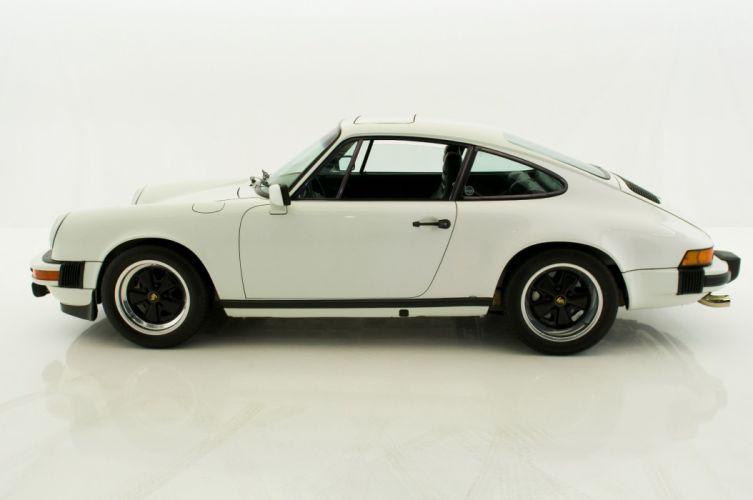 1978 Porsche 911-CS coupe white cars wallpaper