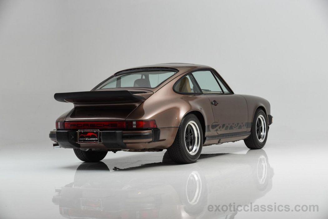 1975 Porsche 911 Carrera Coupe metallic brown classic cars wallpaper