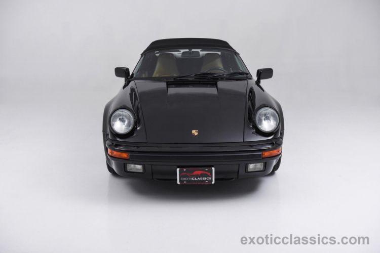 1989 Porsche 911 Carrera Speedster cars black wallpaper