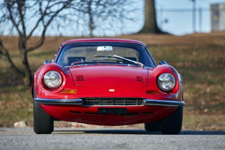 1968 Dino 206-GT coupe cars red wallpaper