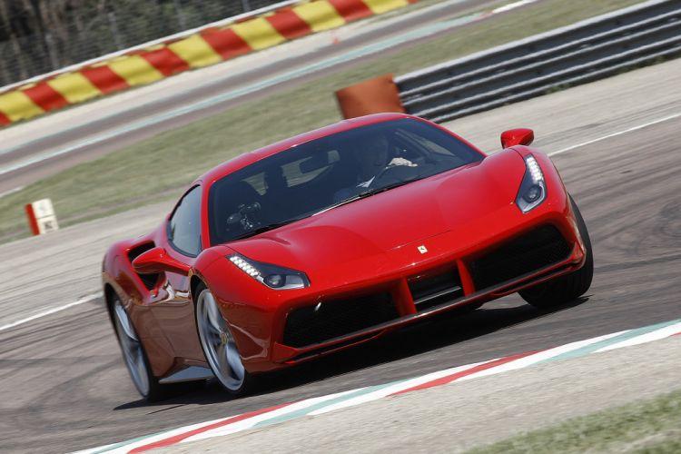 2016 Ferrari 488 GTB cars coupe red wallpaper