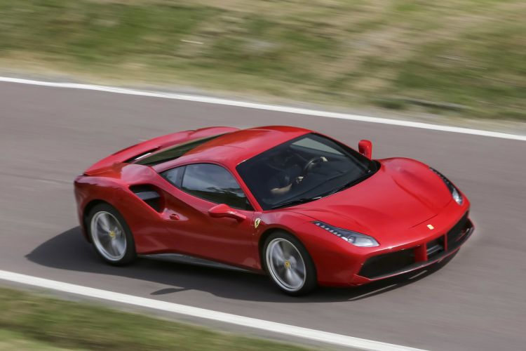2016 Ferrari 488 GTB cars coupe red wallpaper