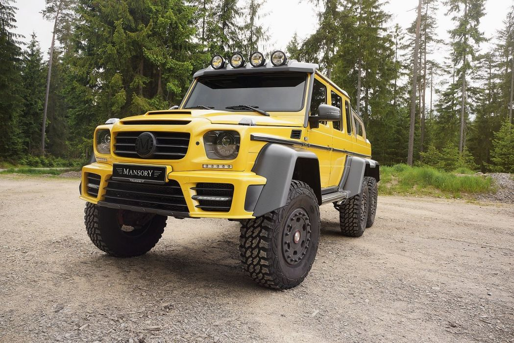 Mansory Mercedes Benz G63 Amg 6x6 All Road Yellow Modified Wallpaper 1475x984 712347 Wallpaperup