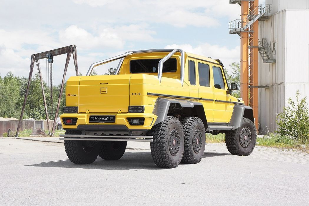 Mansory Mercedes Benz G63 Amg 6x6 All Road Yellow Modified Wallpaper 1475x984 712348 Wallpaperup