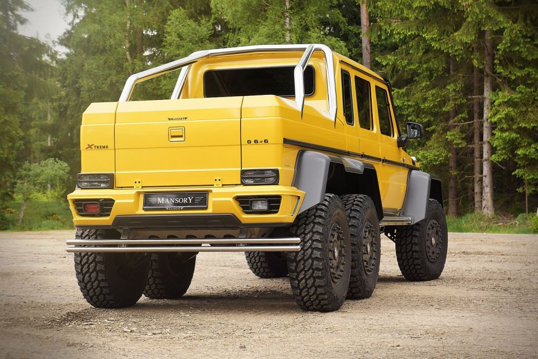 Mansory Mercedes Benz G63 Amg 6x6 All Road Yellow Modified Wallpaper 1475x984 712349 Wallpaperup