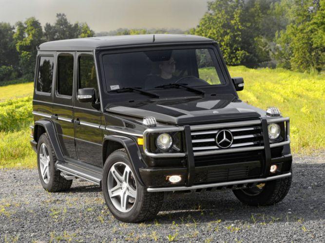 Mercedes Benz G55 Kompressor AMG US-spec W463 2008 4x4 all road awd wallpaper