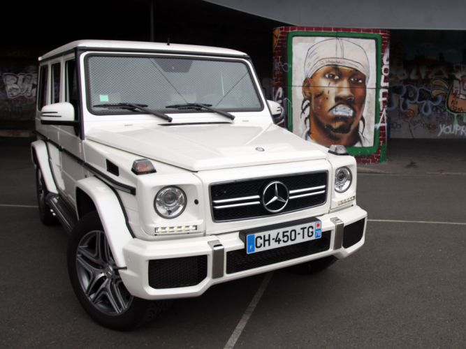 Mercedes Benz G63 AMG W463 2012 cars 4wd 4x4 all road wallpaper