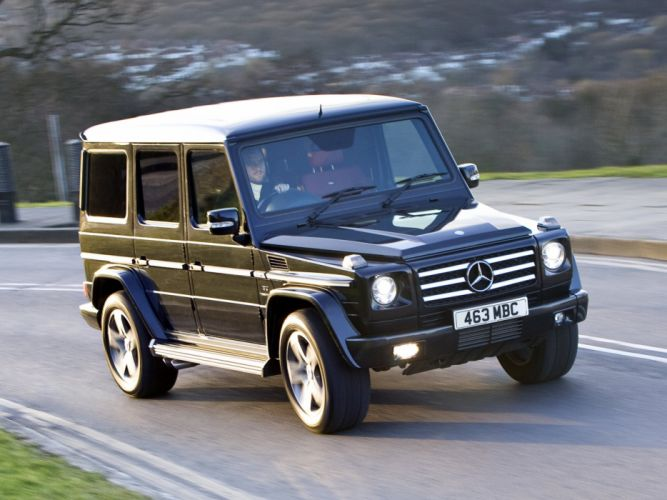 Mercedes Benz G55 Kompressor AMG UK-spec W463 2008 4x4 4wd cars wallpaper