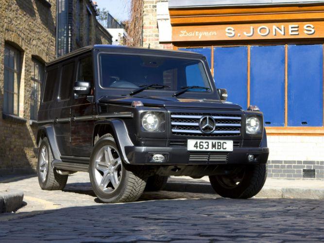 Mercedes Benz G55 Kompressor AMG UK-spec W463 2008 4x4 4wd cars wallpaper