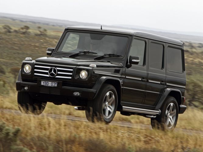 Mercedes Benz G55 Kompressor AMG AU-spec W463 2008 cars 4x4 4wd wallpaper