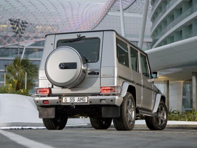 Mercedes Benz G55 Kompressor Edition 79 W463 2010 cars 4x4 4wd wallpaper
