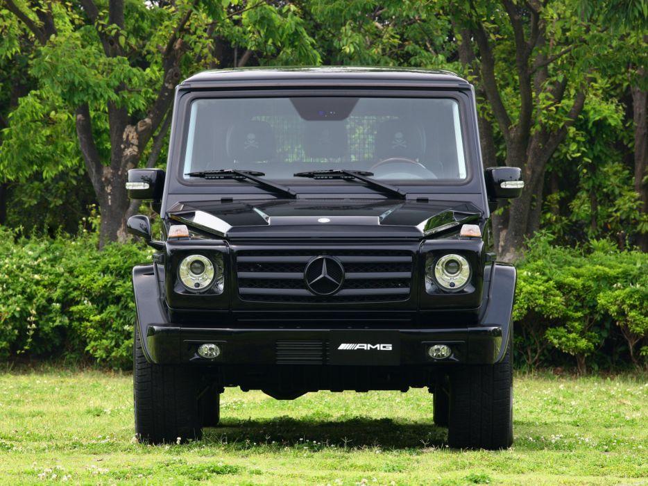 Mercedes Benz G55 Kompressor Mastermind W463 2012 cars 4x4 4wd black wallpaper