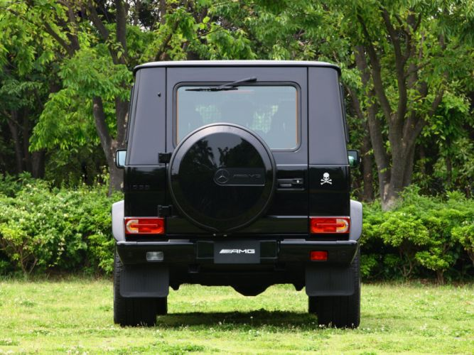 Mercedes Benz G55 Kompressor Mastermind W463 2012 cars 4x4 4wd black wallpaper