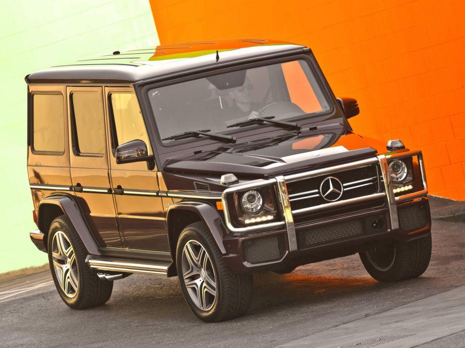 Mercedes Benz G63 AMG US-spec W463 2012 cars 4x4 4wd wallpaper