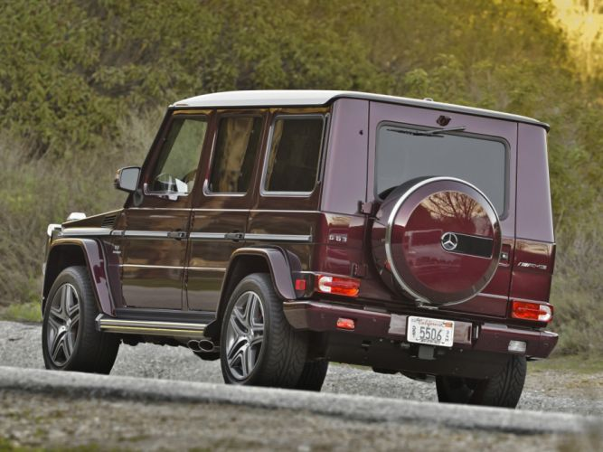Mercedes Benz G63 AMG US-spec W463 2012 cars 4x4 4wd wallpaper