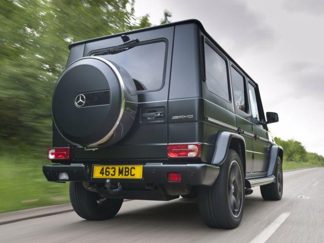 Mercedes Benz G63 AMG UK-spec W463 2012 cars 4x4 4wd wallpaper