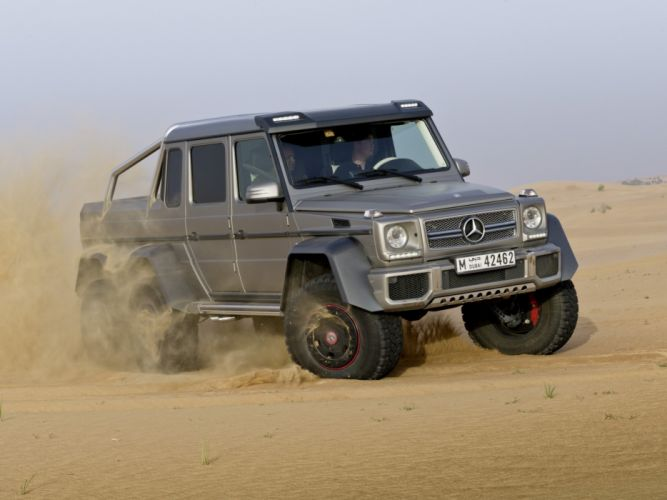 Mercedes Benz G63 AMG 6x6 W463 2013 4wd cars wallpaper