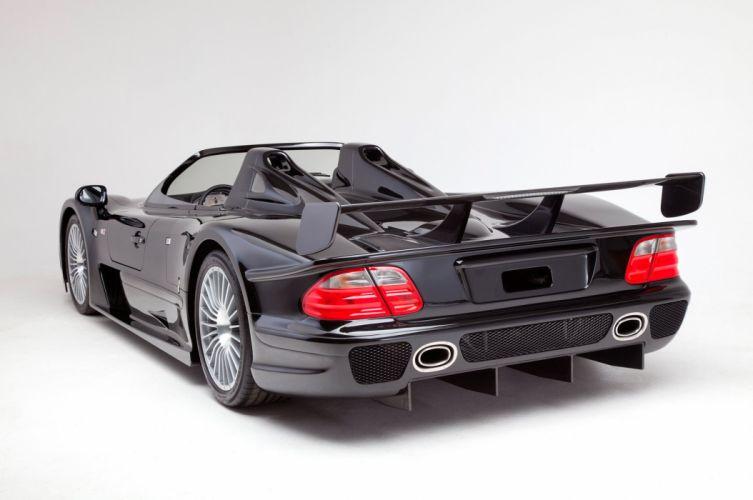 Mercedes Benz CLK GTR AMG Roadster cars supercars 1998 wallpaper