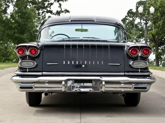 1958 Pontiac Bonneville Custom Tri-Power Sport Coupe cars wallpaper