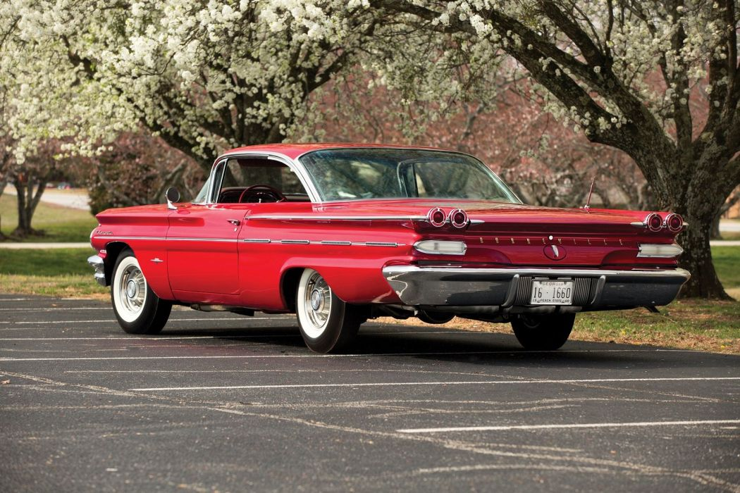 1960 Pontiac Bonneville Sport Coupe cars wallpaper