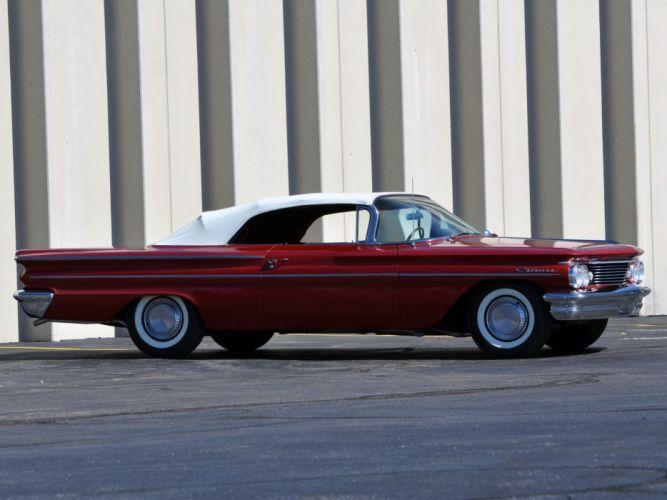 Pontiac Catalina Convertible 1960 cars wallpaper