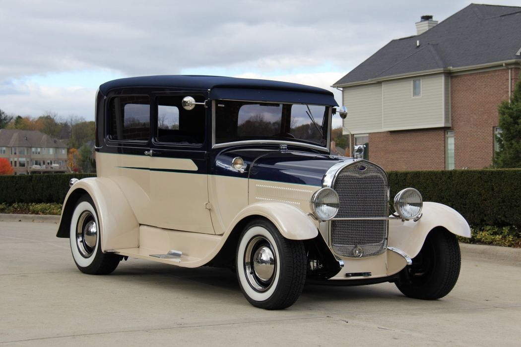 1929 Ford Model-A Street Rod rods retro custom d wallpaper