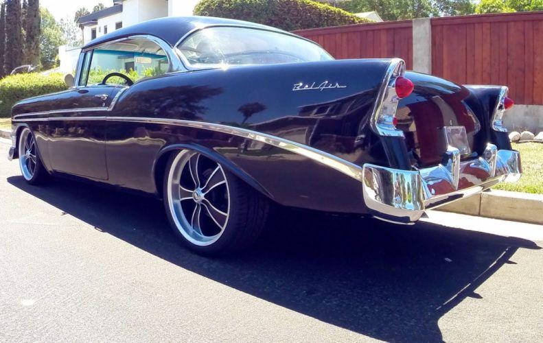 1956 Chevy Bel Air hot rods custom retro j wallpaper