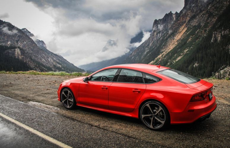 Audi Rs7 Red wallpaper