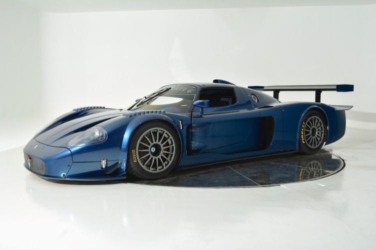 2005 MASERATI MC12 CORSA supercar race racing f wallpaper
