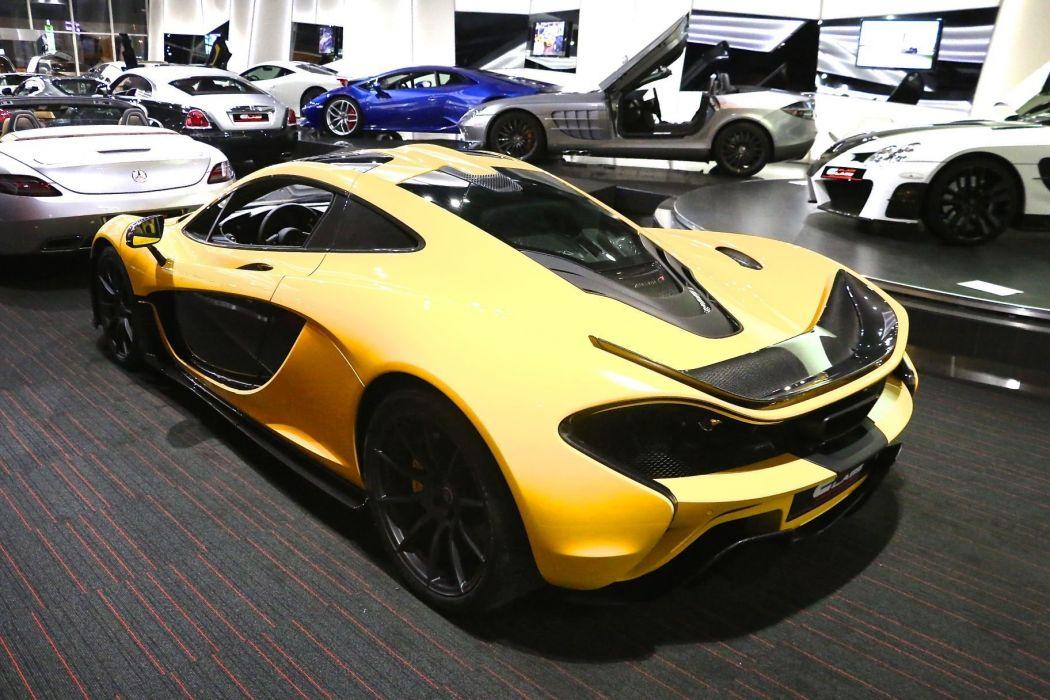 2014 McLaren P-1 supercar d wallpaper