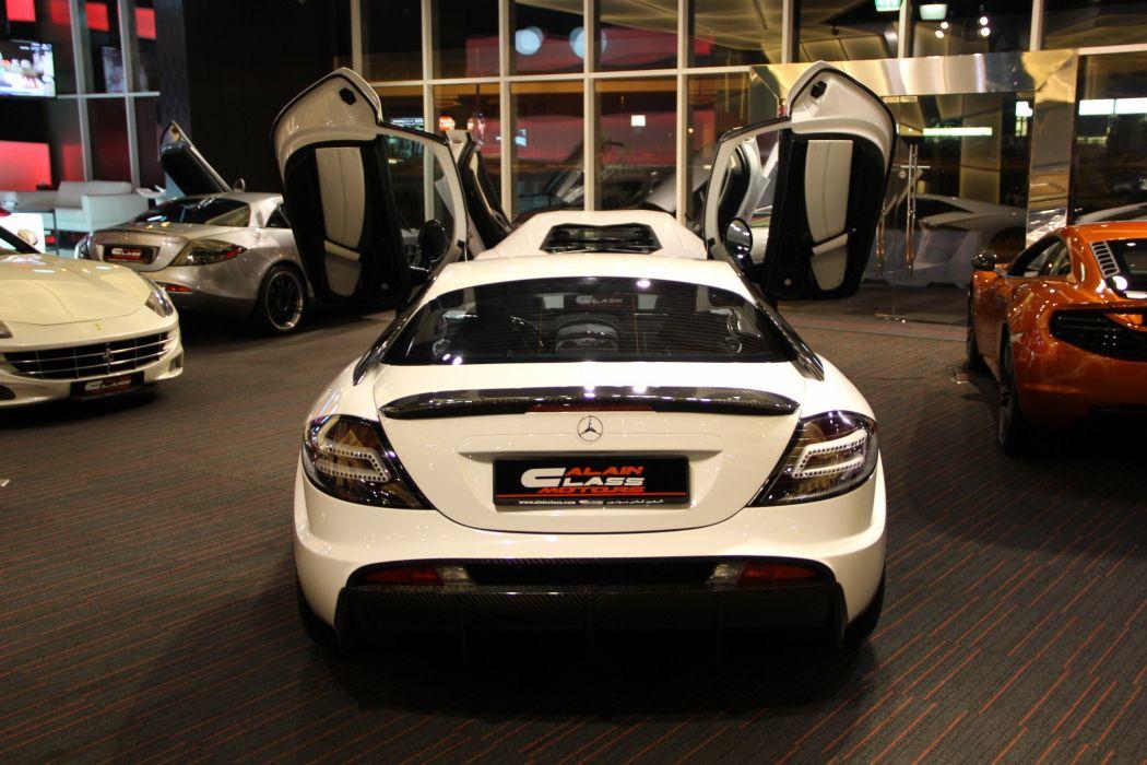 2006 Mercedes Benz SLR McLaren supercar d wallpaper