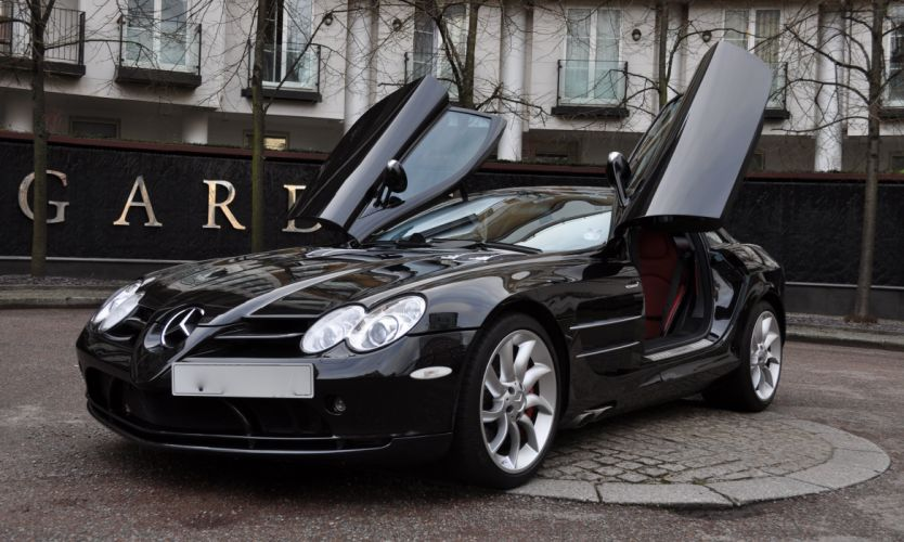 2008 MERCEDES BENZ MCLAREN SLR d wallpaper