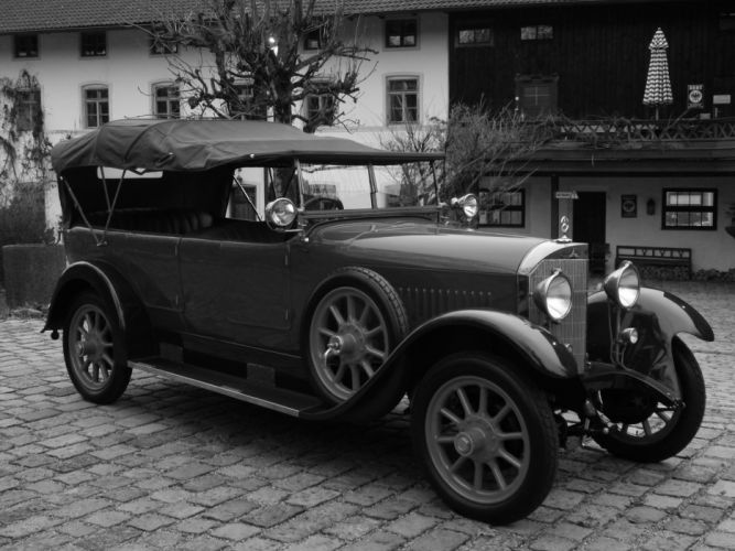1924 MERCEDES 10-40-65 TOURER SUPERCHARGED retro vintage luxury d wallpaper