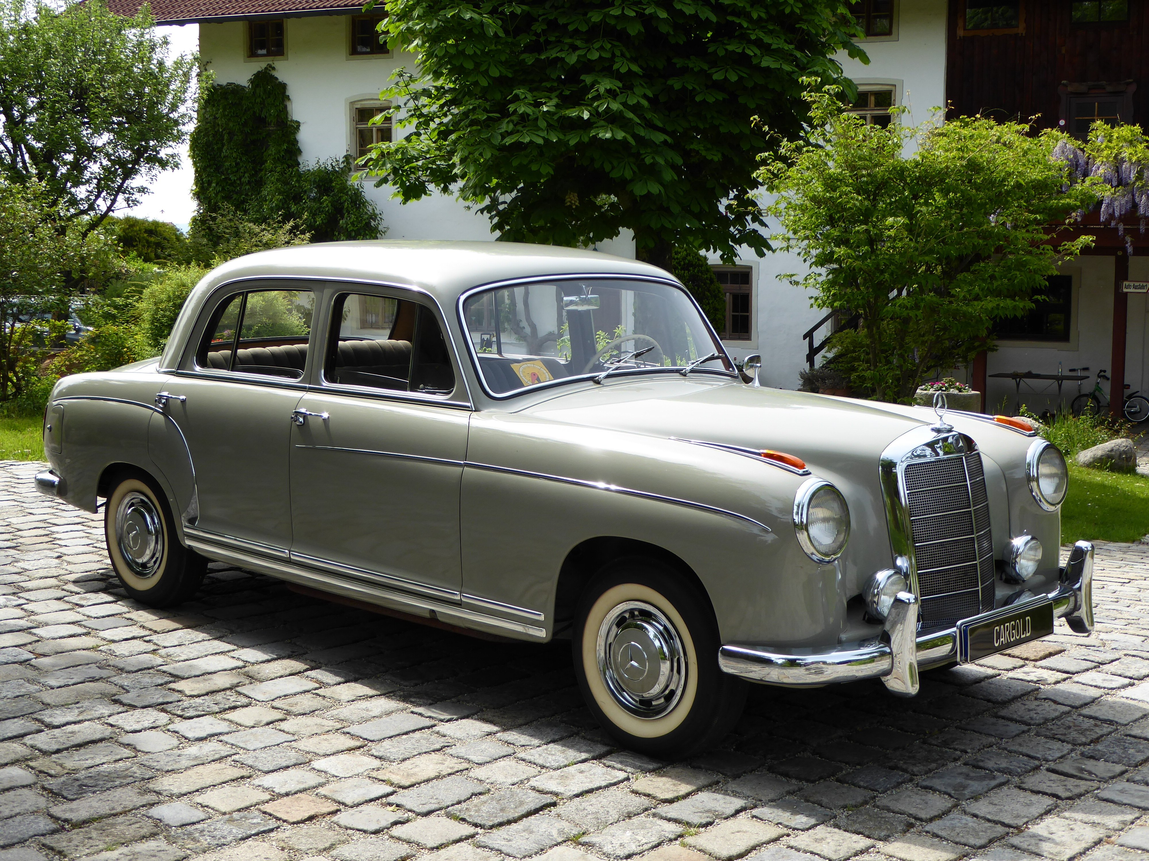 1958 mercedes benz 220s ponton limousine luxury retro f for 1958 mercedes benz 220s for sale