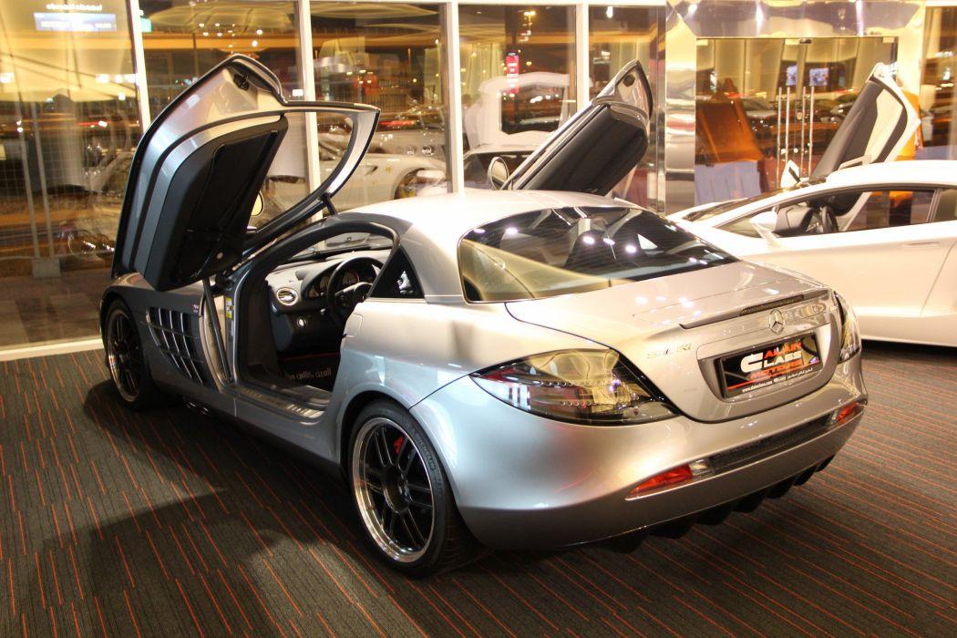 2007 Mercedes Benz SLR McLaren 722 supercar d wallpaper