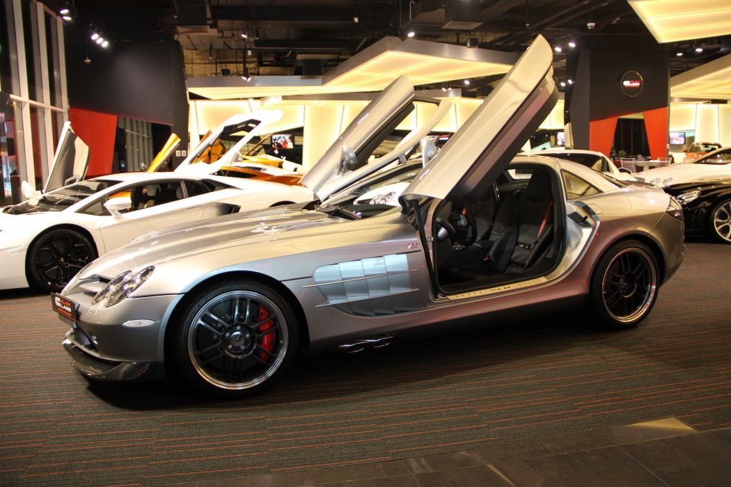2007 Mercedes Benz SLR McLaren 722 supercar d wallpaper